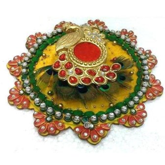 Karwa Chauth Puja Thali Designs 03