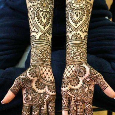 Mehndi designs for karwa chauth 04