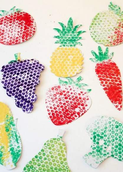 Fruit and vegetable art and craft 01