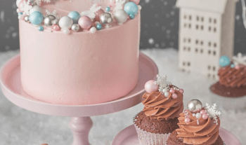 20 Winter Inspired Birthday Cakes For Kids