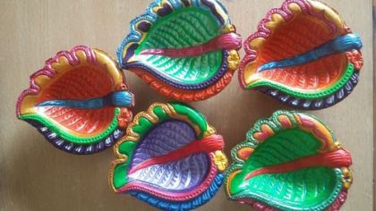 Diwali DIY Diya Ideas 03