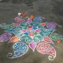 Diwali Rangoli designs 26