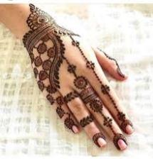 Mehndi designs for karwa chauth 38