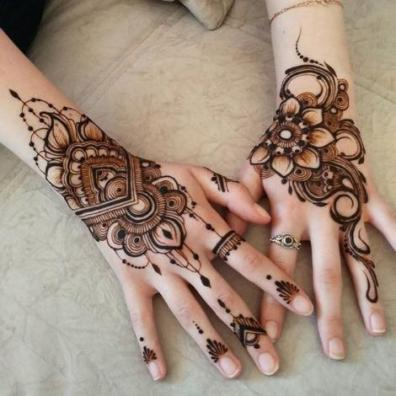 Mehndi designs for karwa chauth 44