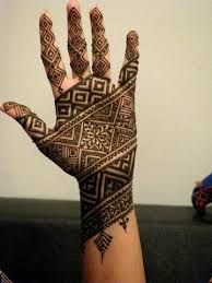 Mehndi designs for karwa chauth 45