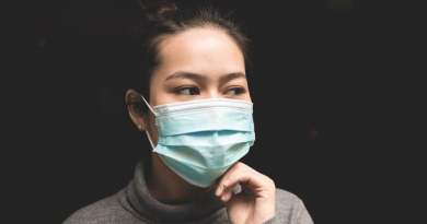 Coronavirus - woman in Wuhan wearing Mask