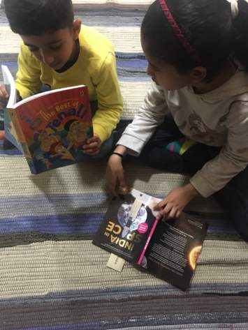 Tips In The The Time Of COVID-19 Lockdown - Kids reading books