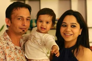 Meet Priyanka Pandey – A Real Mom with her family