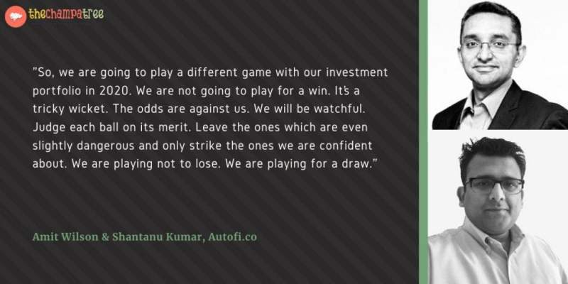 Worried About Your Investments - Quote by Amit Wilson and Shantanu Kumar