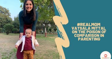 Real Mom Vatsala Mittal with her son