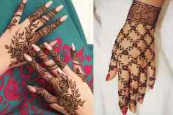 Eid Mehendi Design - Dense floral design