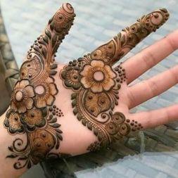Eid Mehendi Design - Floral Design