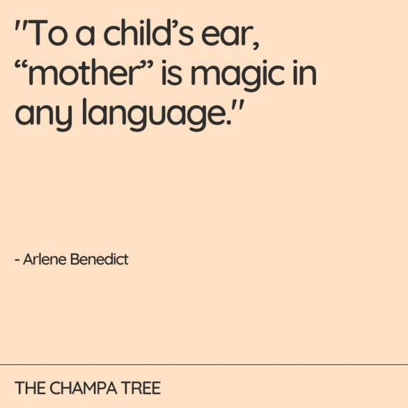 To a child's ear - quote