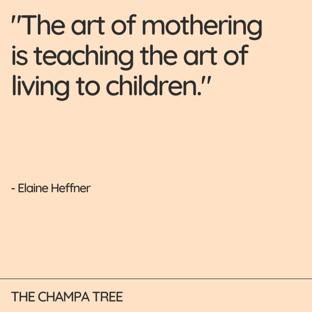 The art of mothering - Quote