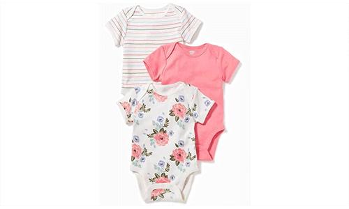 A set of 3 Baby onesies