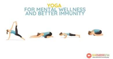 Yoga for women - 4 Poses for mental wellness