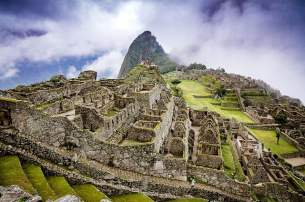 Ancient ruins in Peru