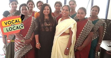 Vocal for Local - Songopan team with the founder Tejashree