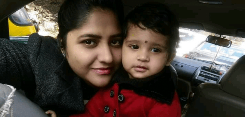 Women in finance -  Shalini Pandey with her duaghter