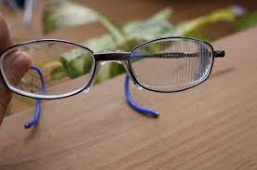 Prism eye glasses for squint eyes