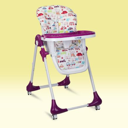 Luvlap high chair for babies