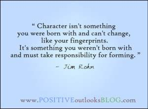 Character Development - Jim Rohn