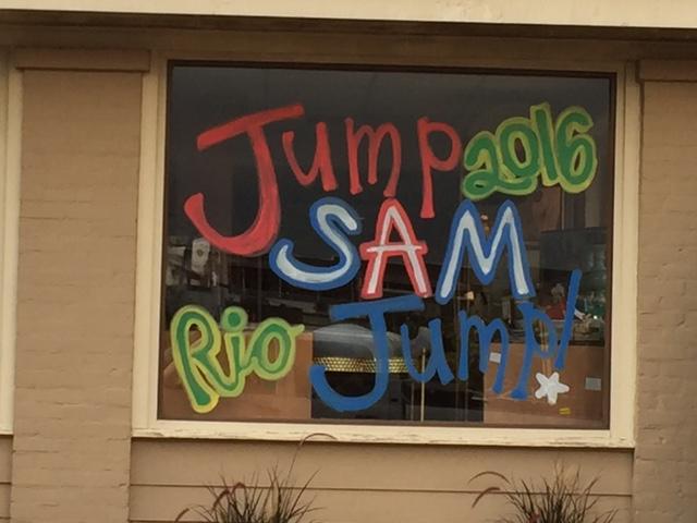 A+local+Oxford+business+has+a+%22Jump+Sam+Jump%22+design+on+the+window.