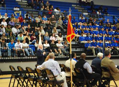 OHS holds annual Veterans Day Memorial Ceremony
