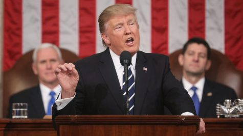 Trump succeeds in historic State of the Union address