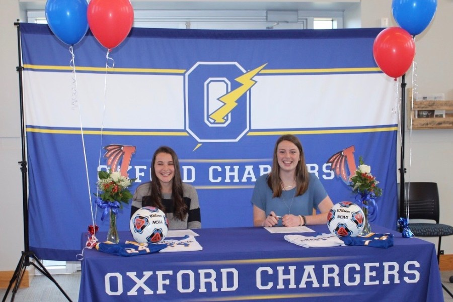 Girls' soccer seniors commit to play at next level
