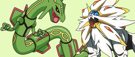 Fun in the Sun – Solgaleo GX/Rayquaza