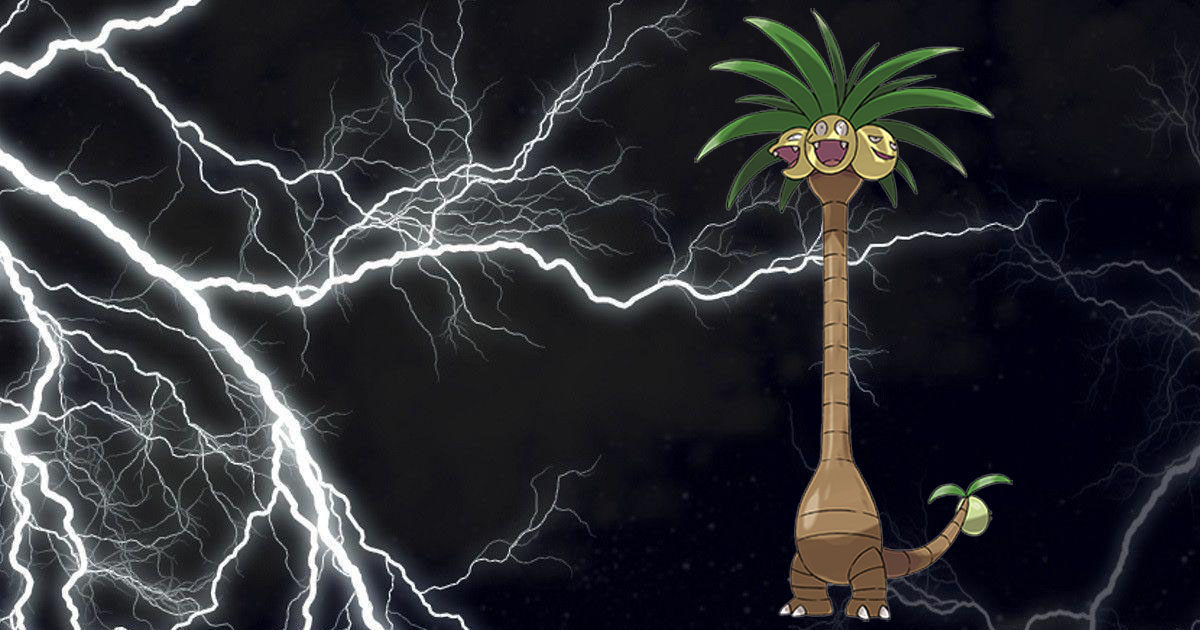 Alolan Exeggutor in Expanded and Lost Thunder Standard