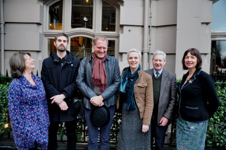 Charles Causley Poetry Competition Winners 2013, with Sir Andrew Motion, Ron Tamplin and Tracey Guiry