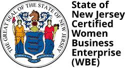 State of New Jersey Certified Women Business Enterprise (WBE)