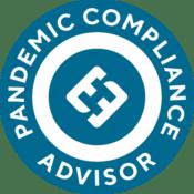 pandemic compliance badge