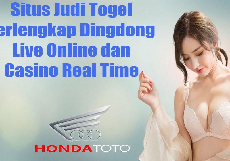 Situs Judi Togel Terlengkap Dingdong Live Online dan Casino Real Time