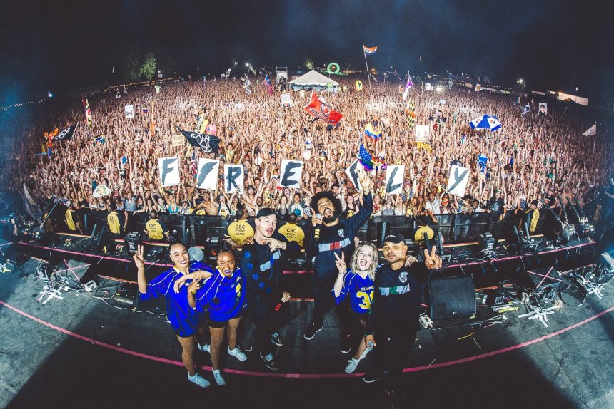 Major Lazer at Firefly Music Festival