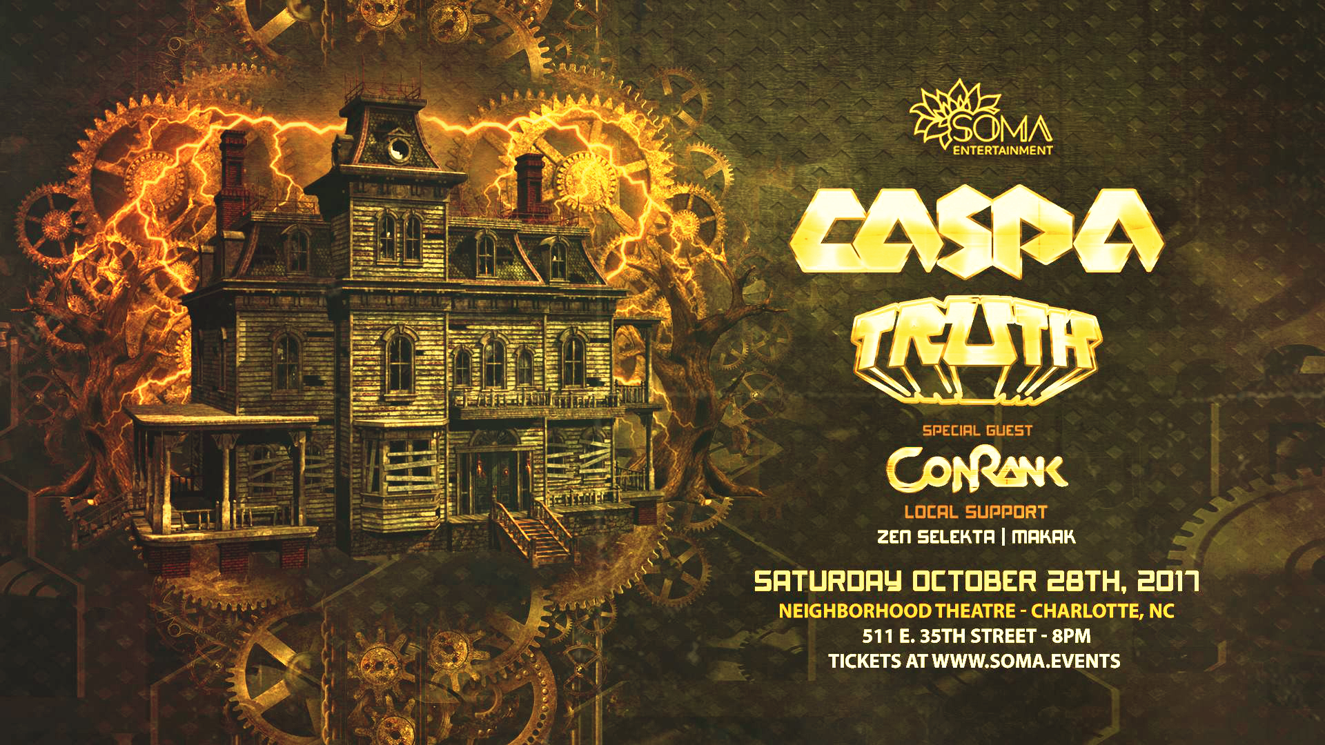 halloween surprise with caspa, truth, and conrank // 10.28.17 | the