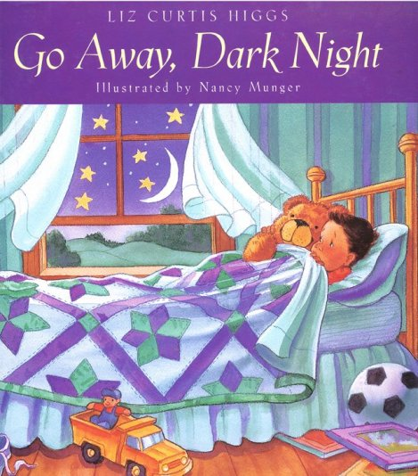 Children's book cover, Go Away Dark Night for How Not To Write a Children's Book