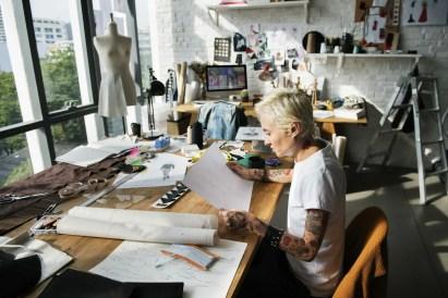 artist in studio. Smartphone Art Marketing Video Idea 2:Behind the Scenes Studio Tour