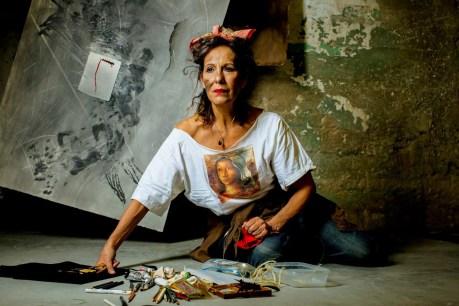 "Antonia Guerrero from Personae, 2016, Photograph, by<a href=""http://carlosdavid.org/portfolio/personae/""> Carlos David</a>. Copyright © 2016 Carlos David. Used by permission of the artist."