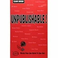 Cover of Unpublishable! Book by Borish, one of my Reference Books For Writers