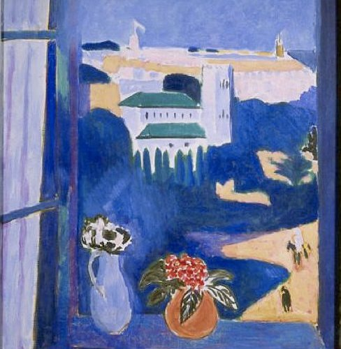 "Painting by Henri Matisse, "" The Window"""