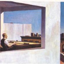 Edward Hopper painting for windows and daydreaming