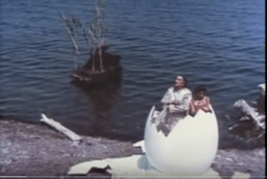 Still from 1983 Dali Documentary, click on image to see video on YouTube.</span>