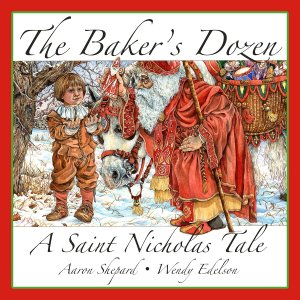 Children's author Aaron Shepard's The Baker's Dozen book