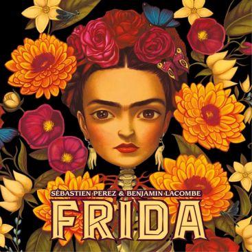 Book on artist Frida Kahlo by Sebastien Perez