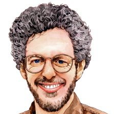 cartoon drawing of author Aaron Shepard,The 9 Mistakes Children's Book Authors Make