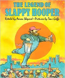 Children's author Aaron Shepard's book The Legend of Slappy Hooper