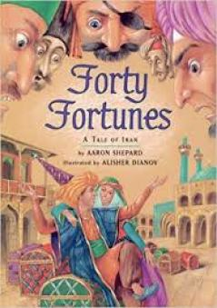 Children's book author Aaron Shepard's Forty Fortunes. The 9 Mistakes Children's Book Authors Make